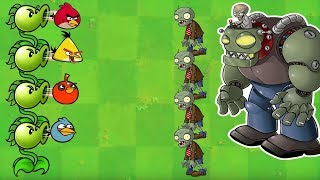 Angry Birds vs Zombies War - THE EXTREME BATTLE OF ANGRY BIRDS VS ZOMBOSS FULL!!
