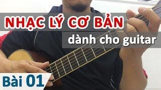 Bài 01: Nhạc lý cơ bản ứng dụng | Học guitar online - Học đàn guitar | HocDanGhiTa.Net