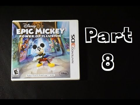 Let's Play - Epic Mickey: Power of Illusion (FINALE part 8 with commentary)