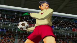 Captain Tsubasa (PS2) - Japan Jr. Youth Vs Italy Jr. Youth 1/4