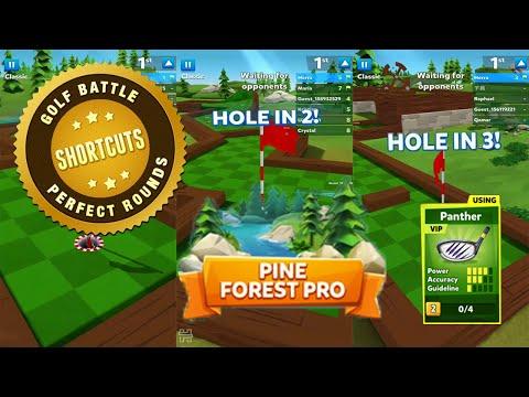 Golf Battle | Pine Forest | 4 Power Club | Tips, Tricks & Shortcuts