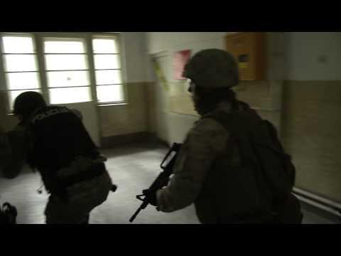 FAST Marines in Sarajevo