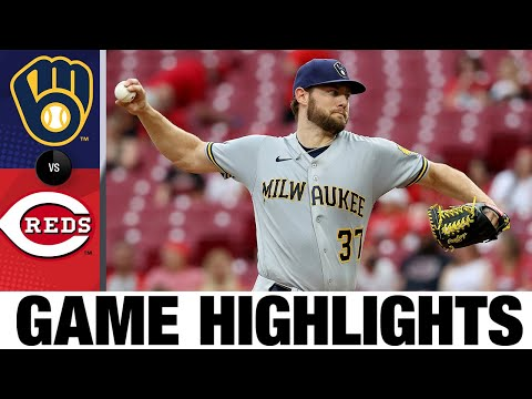 Brewers vs. Reds Game Highlights (6/8/21)   MLB Highlights