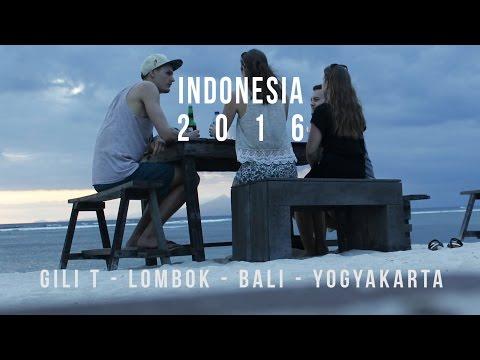 Travelling Indonesia | Gili T - Lombok - Bali - Yogya | 2016 | Contour HD 1080p