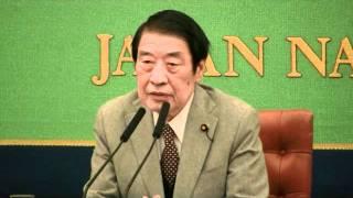 山田正彦 元農水相 2012.1.18