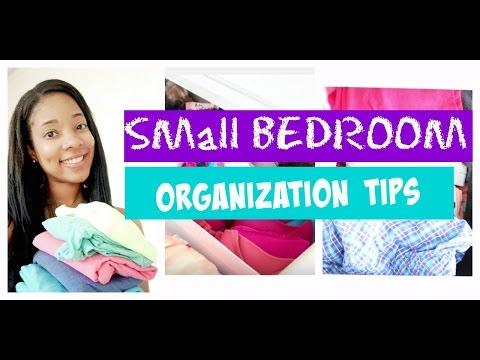 SMALL BEDROOM ORGANIZATION TIPS PART 1