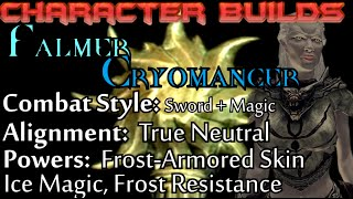 Skyrim Builds - Falmer Cryomancer (Beats Frost Resist/Immune People)