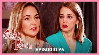 El color de la pasión: Magdalena enfrenta a Rebeca por la muerte de Adriana | C-96 | Tlnovelas