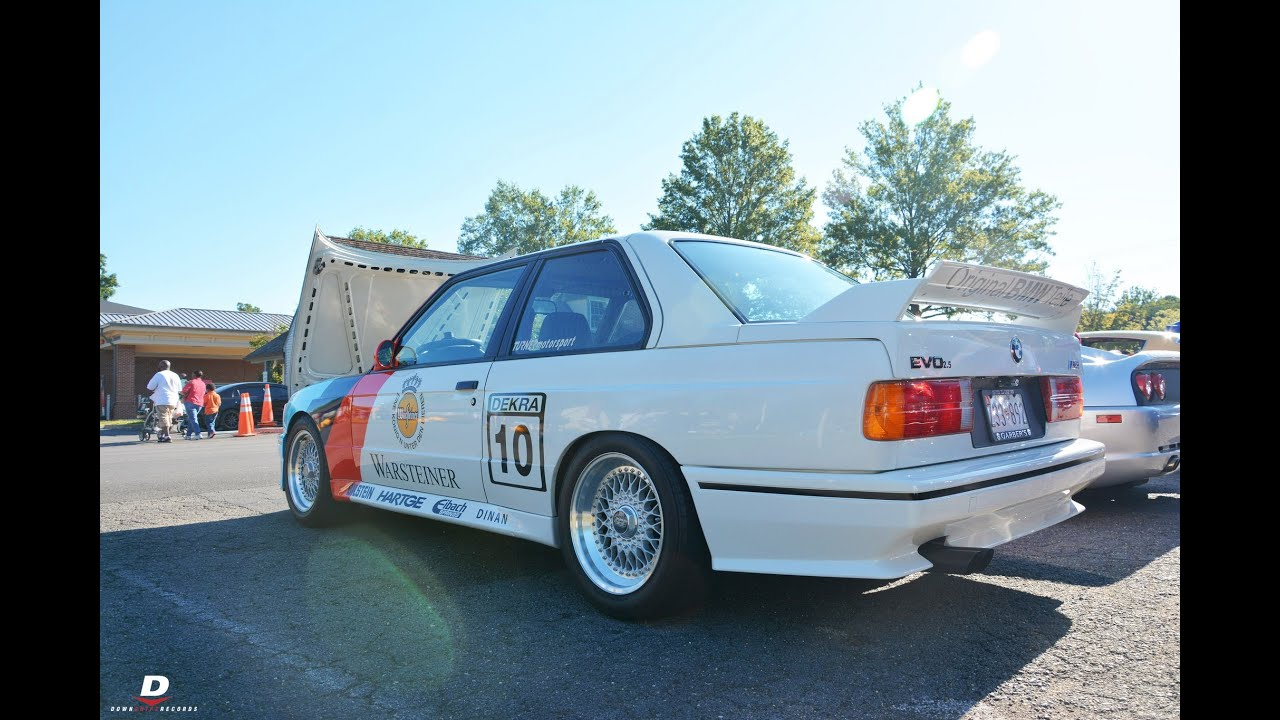 1988 BMW E30 M3 EVO III // Katie\'s Cars & Coffee - YouTube