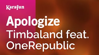 Karaoke Apologize - Timbaland *