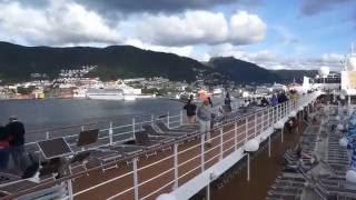 Норвежские фьорды, круиз на MSC Opera, июнь 2016(Круиз на MSC Opera в июне 2016 по норвежским фьордам. Маршрут: 1) 0:10 Берген (Bergen) 2) 0:24 Хеллесилт/Гейрангер (Hellesylt/Geiranger..., 2016-09-12T11:04:26.000Z)