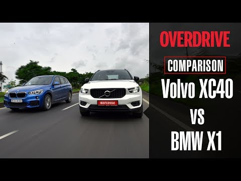 Volvo XC40 vs BMW X1 xDrive20d | Comparative Review | OVERDRIVE