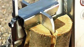 Как заготавливают дрова в европе. Часть 3. Жизнь без топоров.