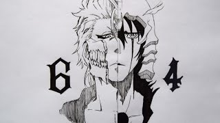 Drawing Grimmjow and Ulquiorra (Bleach)