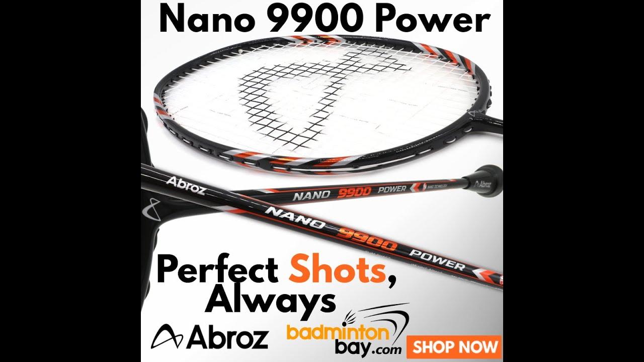 ABROZ NANO SMASH BADMINTON RACKET Light and very fast!