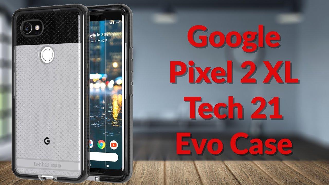 size 40 e13f9 ec272 Google Pixel 2 XL Tech 21 Evo Case - YouTube Tech Guy