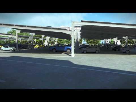 BELECTRIC UK - Stadium Solar Car Park Animation