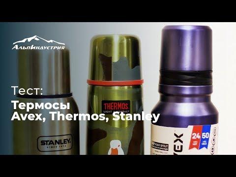 Тест  Термосы Avex Thermos Stanley