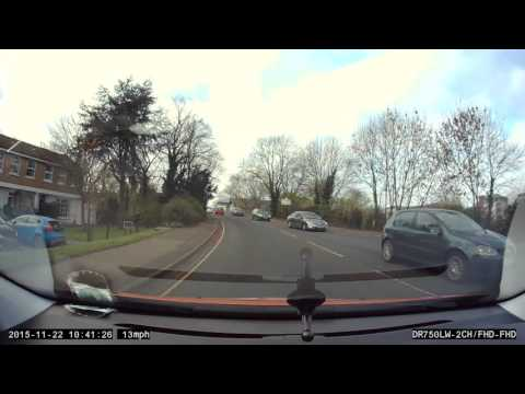 Impatient driver in Leamington Spa