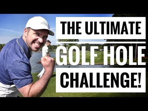 THE ULTIMATE GOLF HOLE CHALLENGE vs Me and My Golf & Seb on Golf