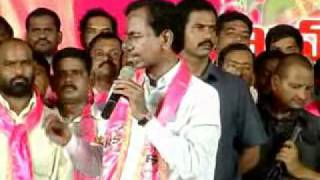 Telangana Tiger KCR Speech in Khammam Kadanabheri