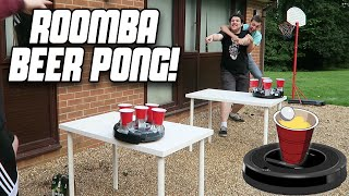 ROOMBA BEER PONG | WheresMyChallenge
