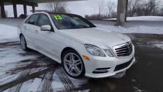 2013 mercedes benz e350 4matic sold