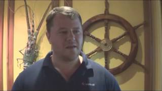 Edward Allen, Carnival vice president beverage operations Interview on Carnival Legend 7-13-14