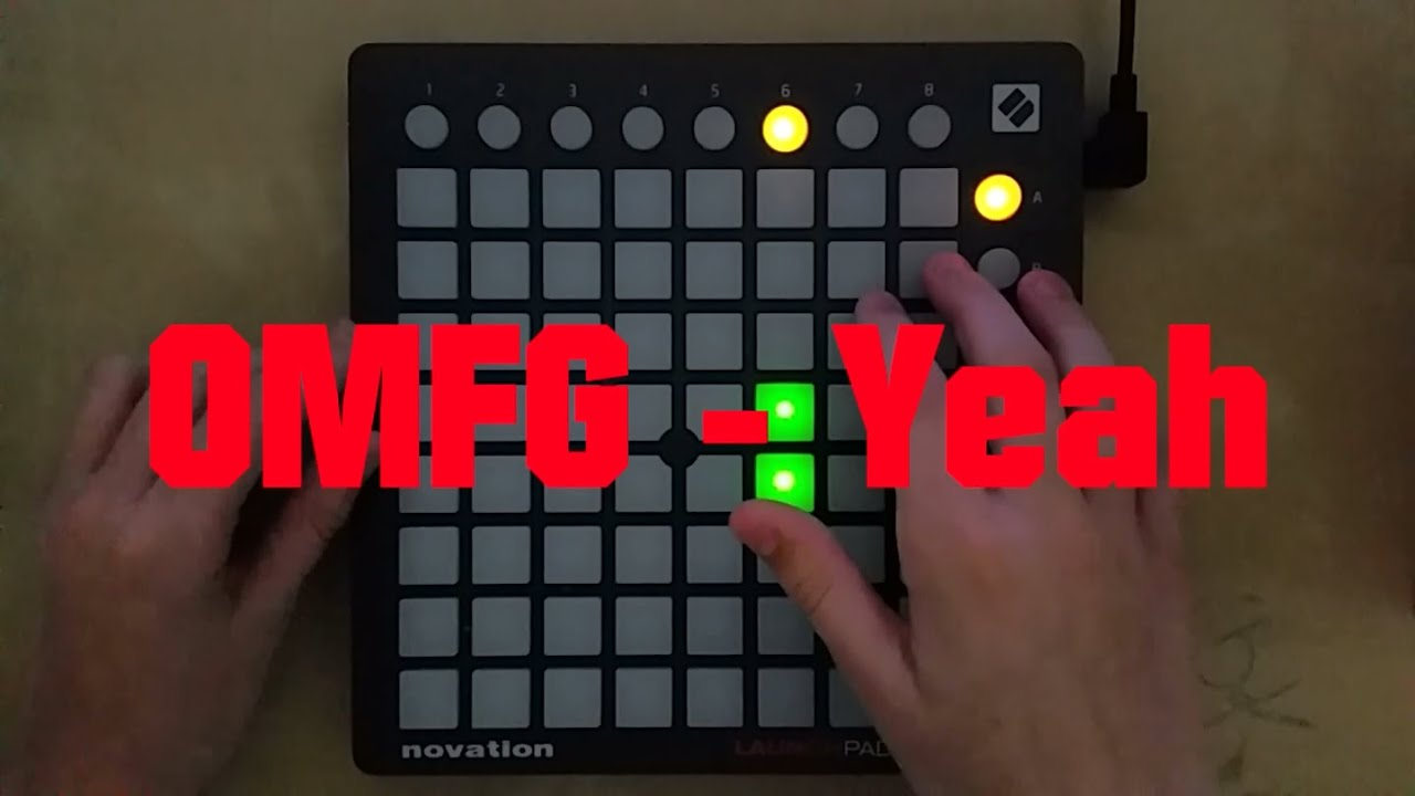 OMFG - Yeah | Live Launchpad Mini Performance/Cover by Karbonis [Project File]