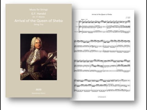 Arrival of the Queen of Sheba   String Trio