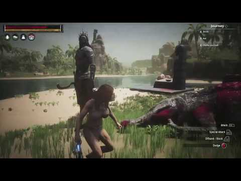 Conan Exiles - It is the King, or his ghost!