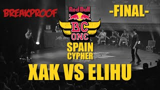 Xak VS Elihu - Final - Red Bull BC ONE Spain 2015