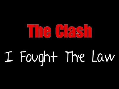 I Fought The Law - The Clash ( lyrics )