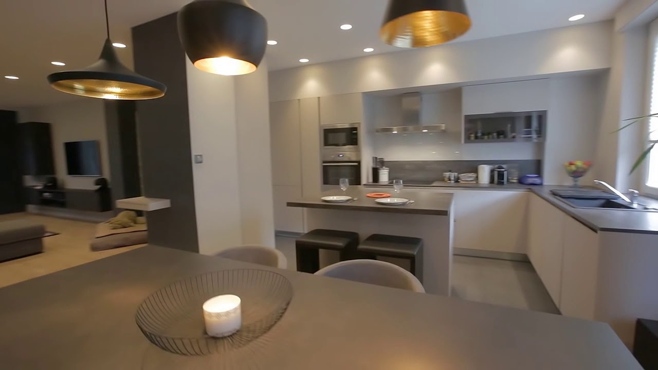 r novation d 39 un appartement julie pocino architecte d 39 interieur grenoble youtube. Black Bedroom Furniture Sets. Home Design Ideas