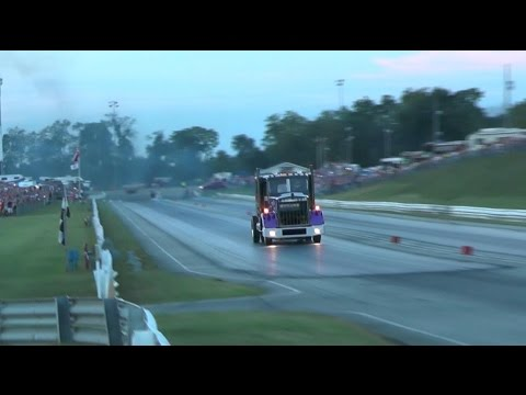 Bob Motz Jet Kenworth @ Keystone Raceway Night of Fire- Aug. 27, 2016