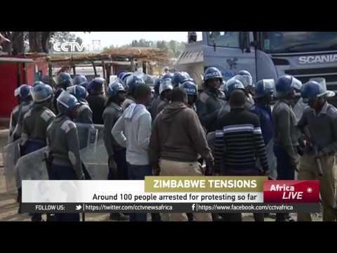 Zimbabwe's businesses paralyzed as civil servants strike