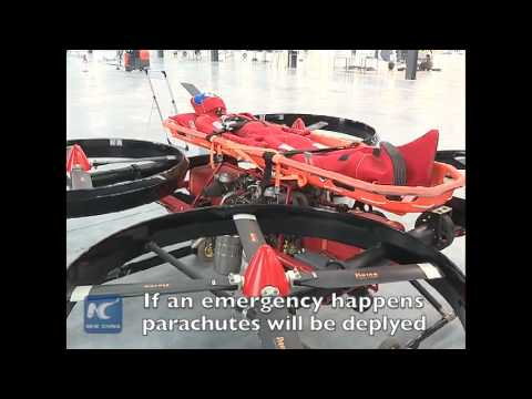 "Chinese engineers make unmanned aerial vehicle ""manned"""