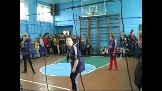 Девочки волейбол ОШ Камышеватская и ОШ Стародубовка