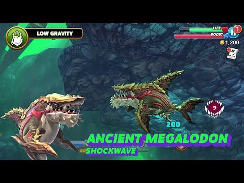 NEW ANCIENT MEGALODON UNLOCKED ! - Hungry Shark World