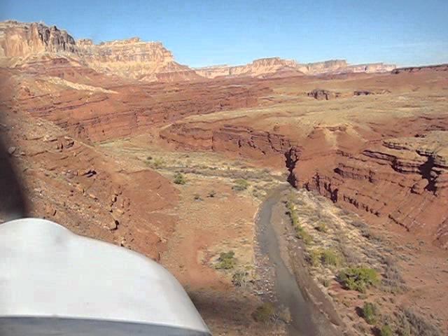 Hidden Splendor, UT Approach and Landing.