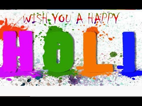Bollywood Celebs WISHES FANS colourful 'HAPPY HOLI 2015!