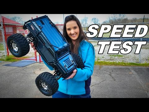 How Fast is the Thunder Tiger K-Rock Monster Truck? - TheRcSaylors