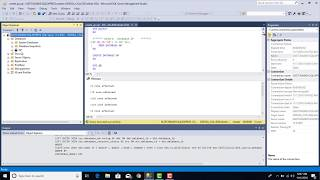 2016 SQL Server AP veritabanı oluşturma