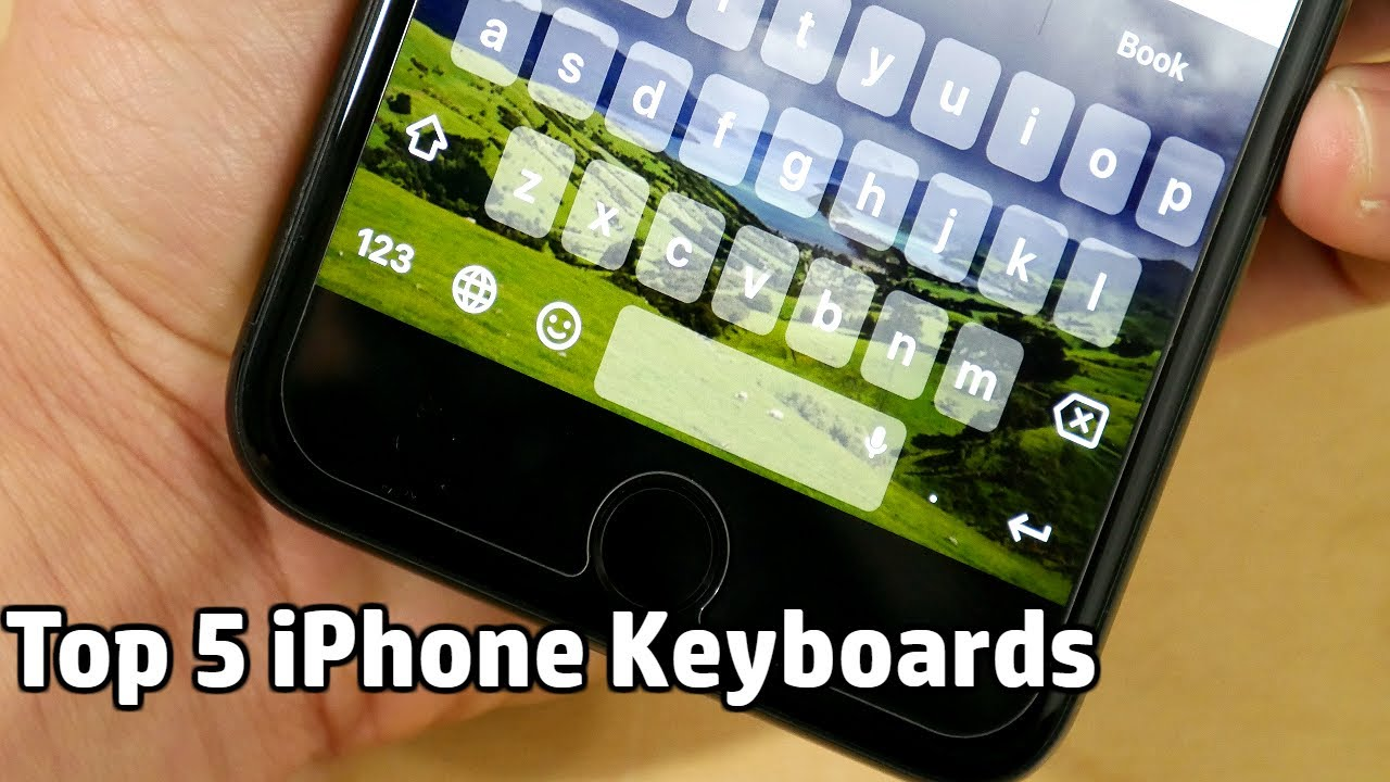 Top 5 iPhone Keyboards image