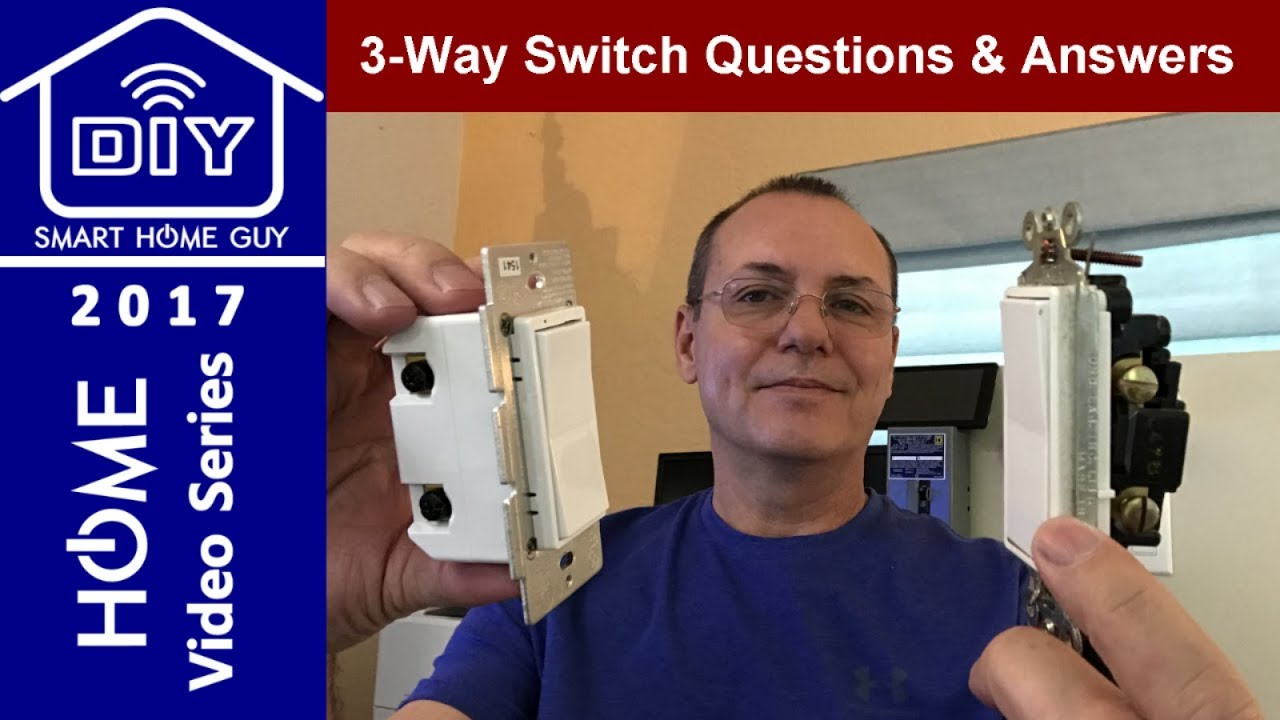 3 Way Smart Switch Questions Answers Youtube How To Wire Threeway Light Switches Hometips