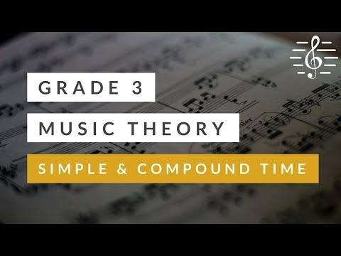 Grade 3 Music Theory - Simple & Compound Time