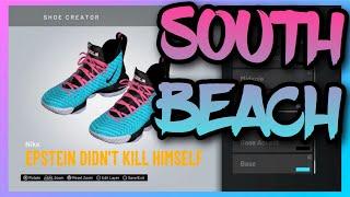 NBA 2K20 Shoe Creator - Nike LeBron 16