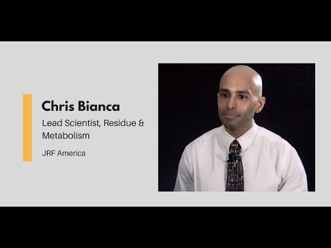 What Chemists Do - Chris Bianca, Lead Scientist, JRF America