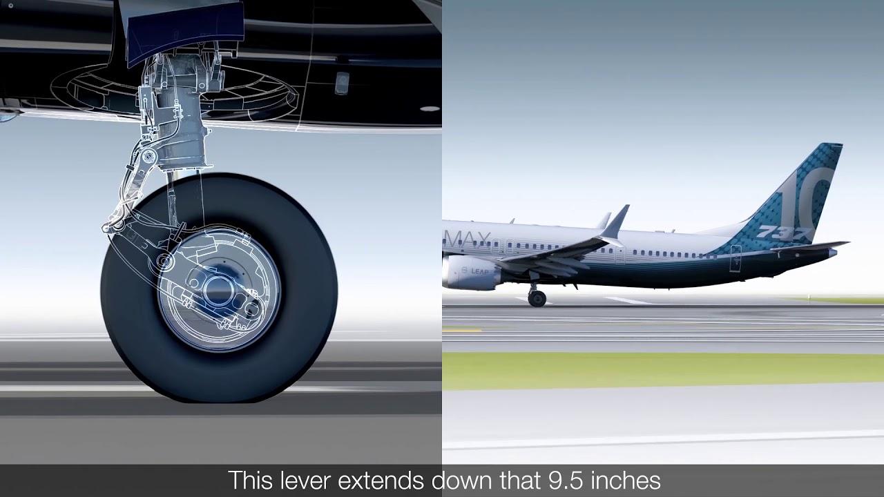 VIDEO: Boeing details 737 Max 10 landing gear design