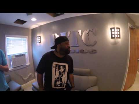 LORD FINESSE WELCOMES YOU TO THE NEW DITC STUDIOS